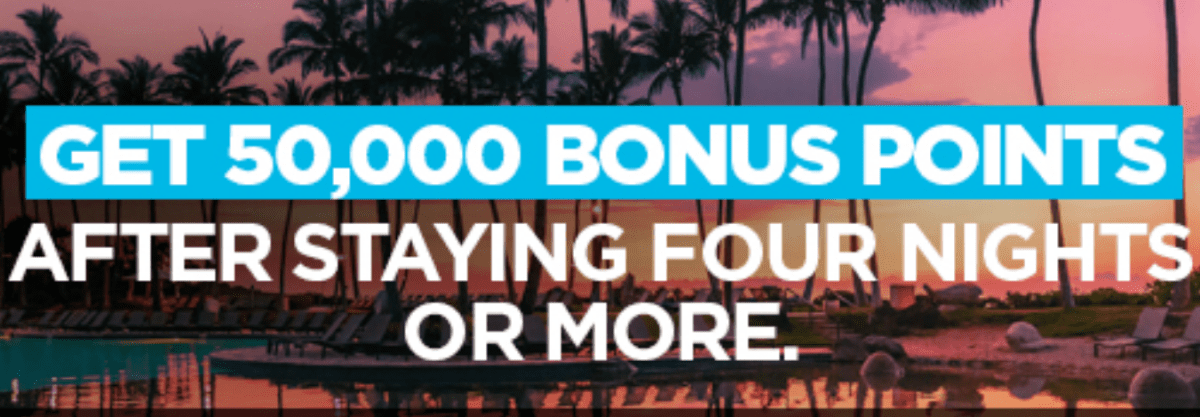 Hilton Promo, Get 50K Bonus Points With 4-Night Stay (Targeted)